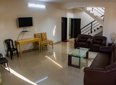3 BHK Bungalow Living Area