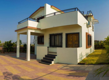 3 BHK Bungalow Outside View 01