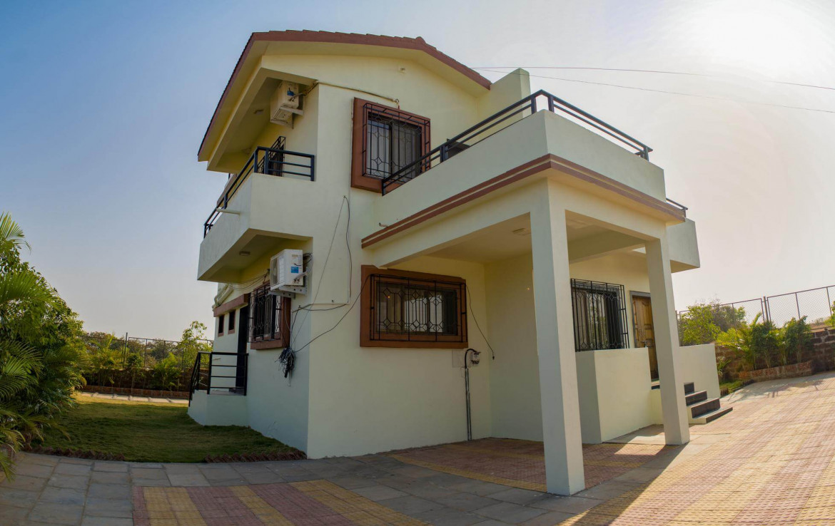 3 BHK Bungalow Outside View
